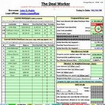 Mortgage Maker Lite software by CalculationCrunchers.com