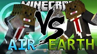 Minecraft Avatar Air Mod vs Avatar Earth Mod (Mod Battles)