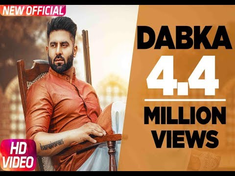 Dabka (Full Video) | Harsimran feat Firoza Khan |