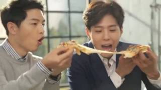 Video Song Joong Ki & Park Bo Gum Cute Behind the Scene for Dominos Pizza CF MP3, 3GP, MP4, WEBM, AVI, FLV April 2018