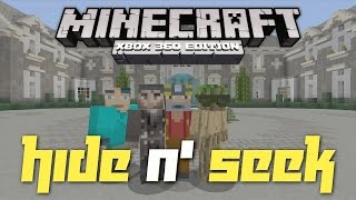 Minecraft Xbox 360: Hide N' Seek in the Alpine Mansion! (New Rules!)