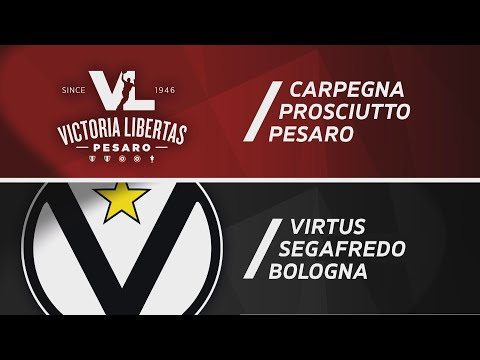 Serie A 2020-21: VL Pesaro-Virtus Bologna, <br>gli highlights</br>