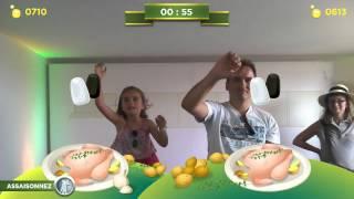 Vidéo Magali S vs A N