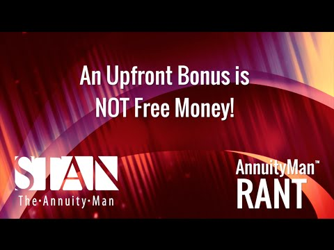 An Upfront Bonus is NOT Free Money!