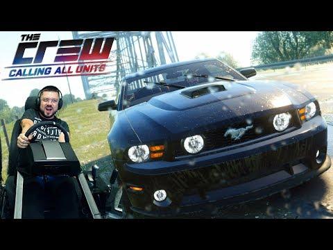 The Crew на PS4 с новым рулём от Fanatec - таки ОК???!!!