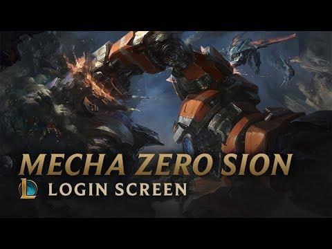 Mecha Zero Sion | Login Screen - League of Legends (видео)