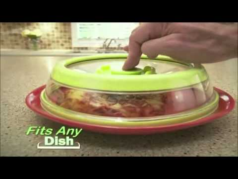 As Seen On TV - Press Dome - Don't Wrap. . Press . .  - Direct Response Infomercial - 2013