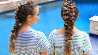 How to Create a French Wrap Braid (ft Brooklyn from BrooklynAndBailey) by Cute Girls Hairstyles