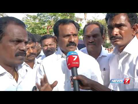 Current situation in O Panneerselvam's residence: Reporter Update