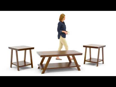 Bradley T392-13 Occasional Table Set
