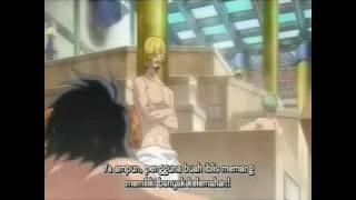 Download Video One Piece : Luffy dan kru kaget,bertemu Aokiji di pemandian air panas MP3 3GP MP4