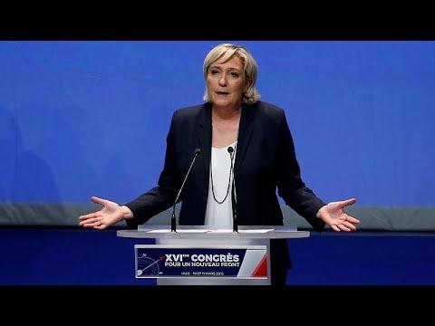 Σε «Εθνικό Συναγερμό» καλεί η Λε Πεν, για «πολιτική δολοφονία» μιλά ο πατέρας της…