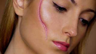 Video Easy Scar - Last Minute Halloween Makeup Tutorial MP3, 3GP, MP4, WEBM, AVI, FLV April 2018