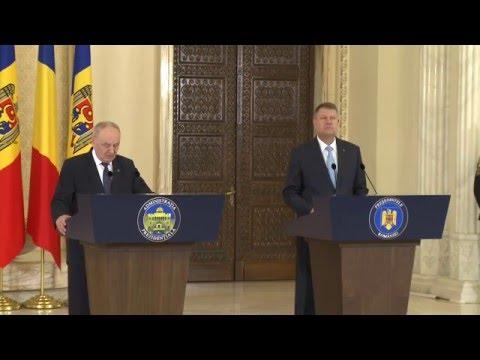 Întrevederea președintelui Timofti cu președintele României, Klaus Iohannis