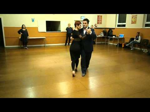 tango lesson for March