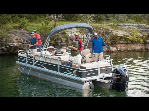 SUN TRACKER Boats: FISHIN' BARGE 22 XP3 Fishing Pontoon