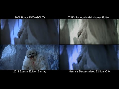 ORIGINAL Wampa Scene | The Empire Strikes Back (1980) [DeEd, Blu-ray, GOUT, Renegade]