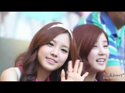 120603 Apink Fan Sign Event Naeun 손나은 bgm-High up in the sky