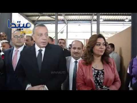 درويش ومحافظ الجيزة يفتتحا سوق الكونيسة الحضاري