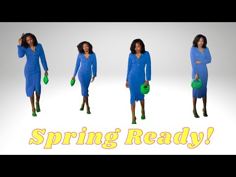 SPRING/SUMMER FASHION HAUL| TRY ON видео