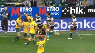 2014 Barbarian F.C. Vs Australia Rugby Match - Universal Sports