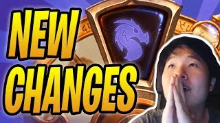 Toast Reacts to HUGE HEARTHSTONE CHANGES!   Year of the Dragon   Expansion Predictions   Hearthstone