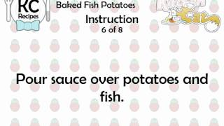 KC Baked Fish Potatoes YouTube video