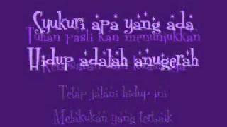 D'masiv-Jangan Menyerah(with lyrics) Video