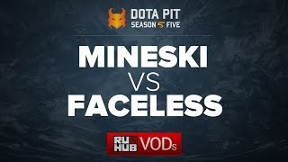Mineski vs Team Faceless, Dota Pit Season 5, game 3 [Lex, 4ce]