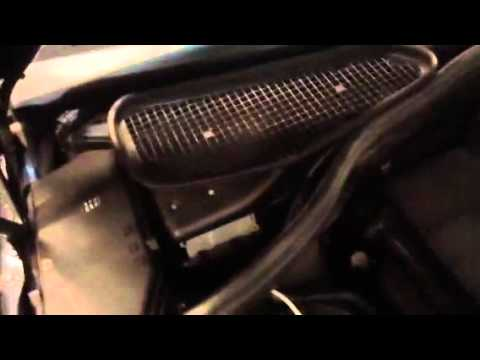 Mercedes S500 blower motor repair