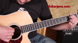 The Who - Behind Blues Eyes - How to Play - Acoustic Guitar Songs - Guitar Lesson Tutorial