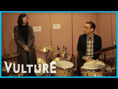 """Portlandia"" Stars Duel on the Drums"