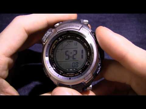 Casio Pathfinder PAW1300T-7V - My North Texas Weather Watch =)