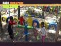 Bermain bersama kakak dan adik di Dago Dreampark Bandung