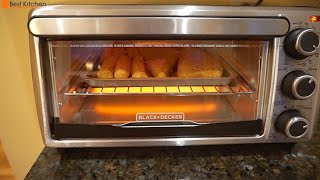 Hi Guys, today I'm reviewing the Black & Decker TO1303SB 4-Slice Toaster Oven. LINK TO Black & Decker Toaster Oven: http://amzn.to/2rY50c4 . It can bake ...