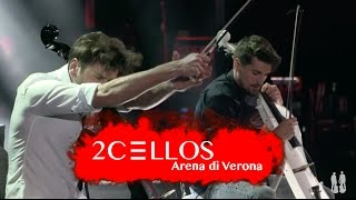 http://www.facebook.com/2Celloshttp://www.instagram.com/2cellosofficial 2CELLOS Luka Sulic and Stjepan Hauser performing Smooth Criminal by Michael Jackson at their historical 5th anniversary concert at Arena di Verona, May 2016Filmed by MedVid produkcijaDirected by Kristijan BurlovicVideo editing by Stjepan Hauser & Ivan StifanicSound by 2CELLOS, Miro Vidovic & Filip VidovicLighting design by Crt Birsa