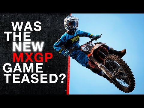 Was The New Mxgp Game Just Teased? (trailer)