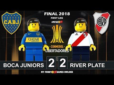 Final Copa Libertadores 2018 • Boca Juniors 2-2 River Plate • 11/11/2018 All Goals Lego Football