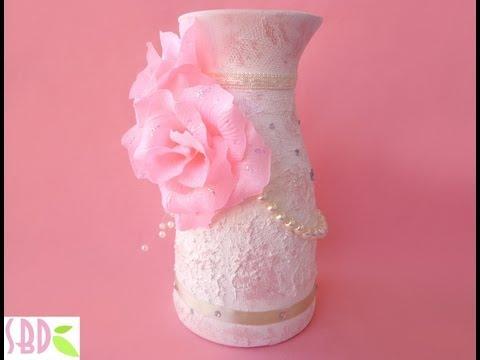 vaso shabby chic