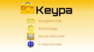 Keypa Data Safe and Messenger YouTube video