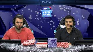 (RU) LOOT.BET Winter masters | Alliance vs Nemiga gaming | map 1 | @cold_ethil & @Norov_UCC