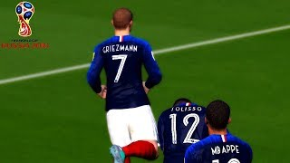 Video France vs Belgium | Semi-final | FIFA World Cup Russia 2018 Gameplay MP3, 3GP, MP4, WEBM, AVI, FLV Agustus 2018