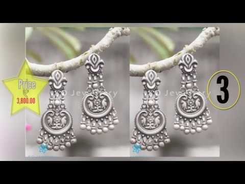 Silver Earrings For Girls With Price