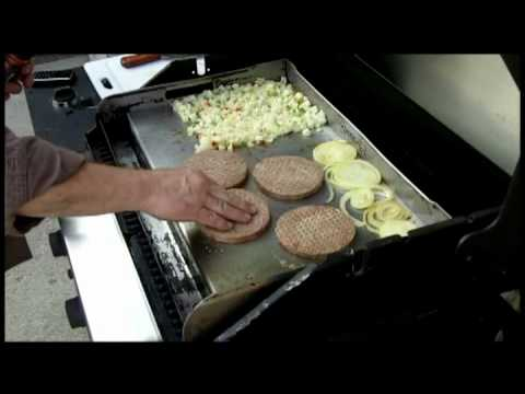 Burgers & Onions with Hashbrowns on the Griddle-Q.mp4