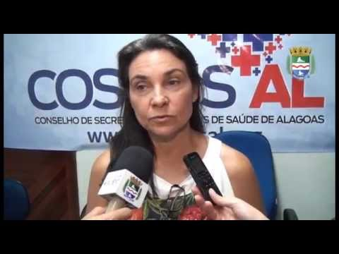 Apresentação de relatório do Conselho de Secretarias Municipais de Saúde de Alagoas