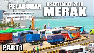 Video Ramainya... ANTRIAN BUS Memasuki Kapal di Pelabuhan Merak #PART1 (8 September 2018) MP3, 3GP, MP4, WEBM, AVI, FLV September 2018