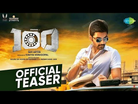 100 | Official Teaser | Atharvaa | Hansika Motwani | Sam Anton | Sam CS | Kaviya Venugopal | Auraa