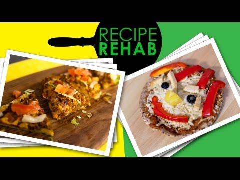 Healthy Pizza I Recipe Rehab I Everyday Health