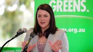 Young Australia  city photo : Sarah Hanson-Young (Australia's Dumbest Politician)