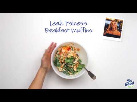 Leah Itsines's so good breakfast muffins thumbnail 1